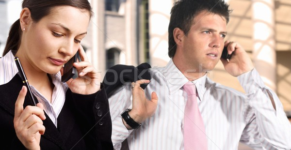 Business call Stock photo © nyul