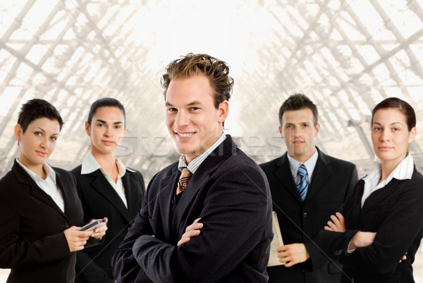 Team of business people Stock photo © nyul
