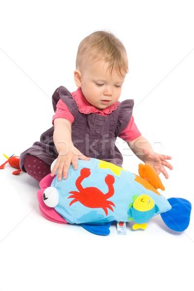 Spelen speelgoed geïsoleerd cute Stockfoto © nyul