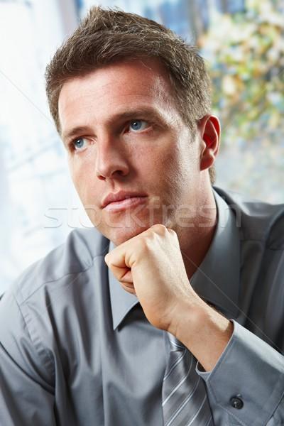 Stock photo: Confident businessman portrait