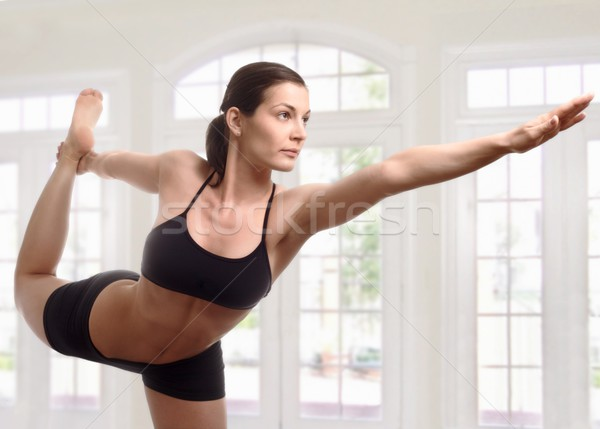 Stock photo: Expert yoga pose