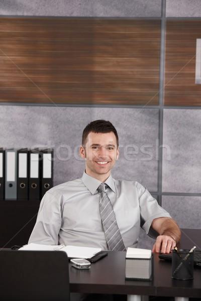 Portrait of casual businessman Stock photo © nyul