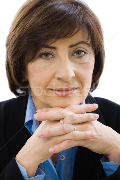 Senior businesswoman Stock photo © nyul