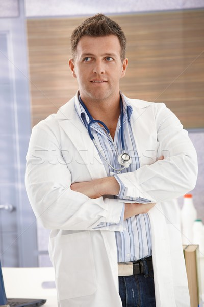 Handsome doctor Stock photo © nyul