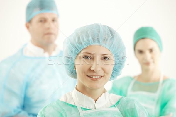 Medical team in uniform Stock photo © nyul