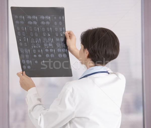 医師 見える X線 女性 調べる オフィス ストックフォト © nyul
