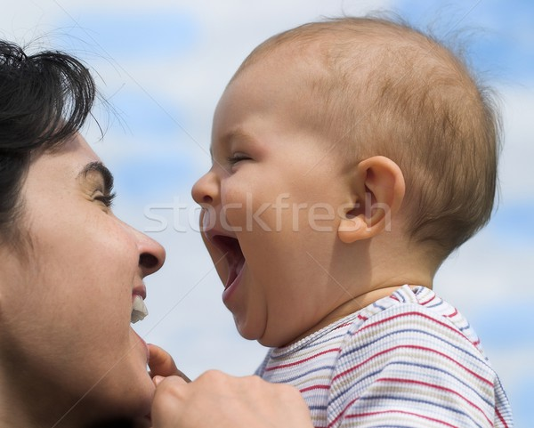 Laugh Stock photo © nyul