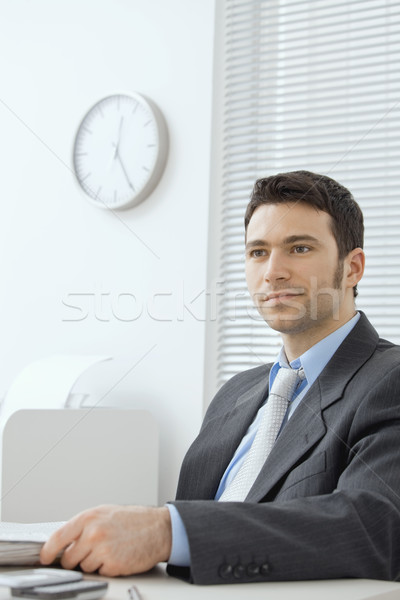 Portrait of businessman Stock photo © nyul