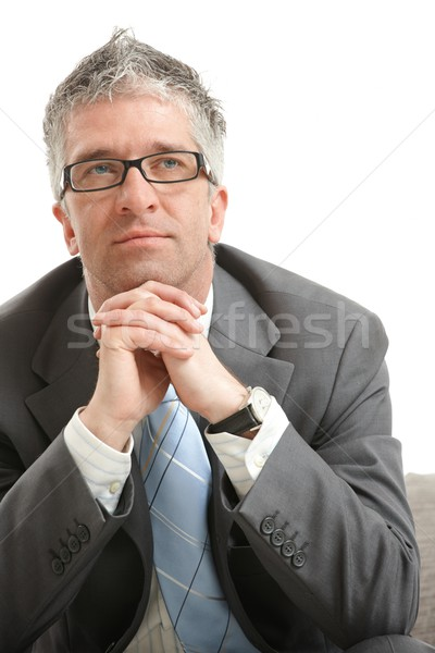 Businessman thinking Stock photo © nyul