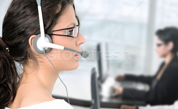 IT helpdesk Stock photo © nyul