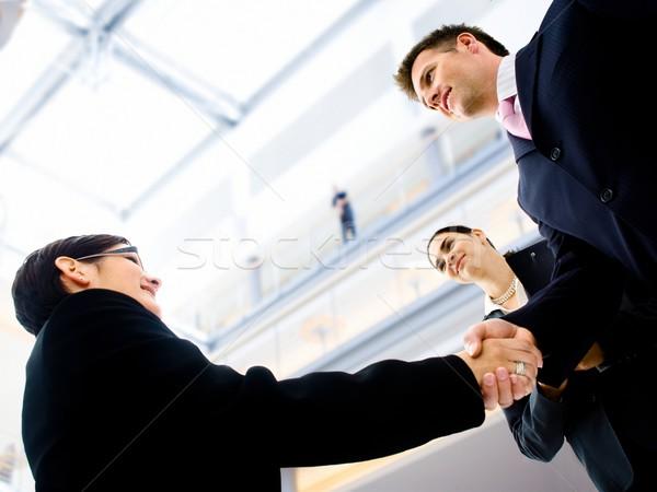 Stock photo: Business handshake