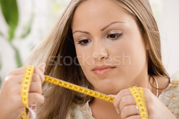 Young woman on diet Stock photo © nyul
