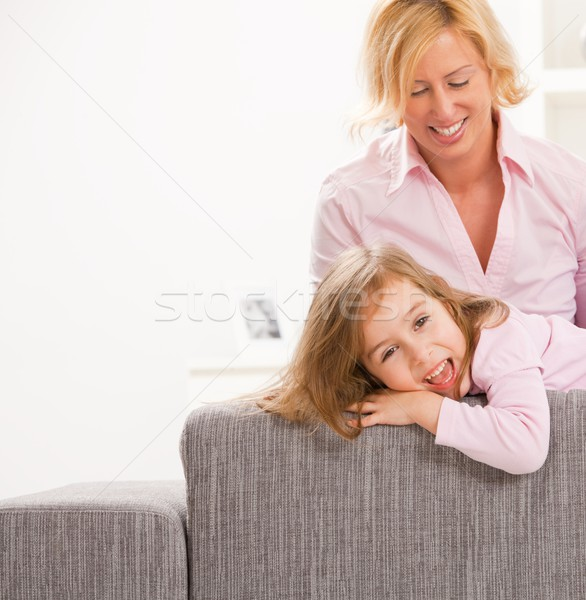 Mother and child Stock photo © nyul