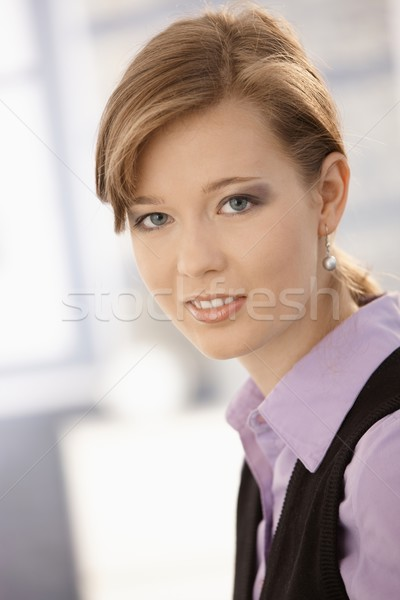 Portrait of young woman Stock photo © nyul