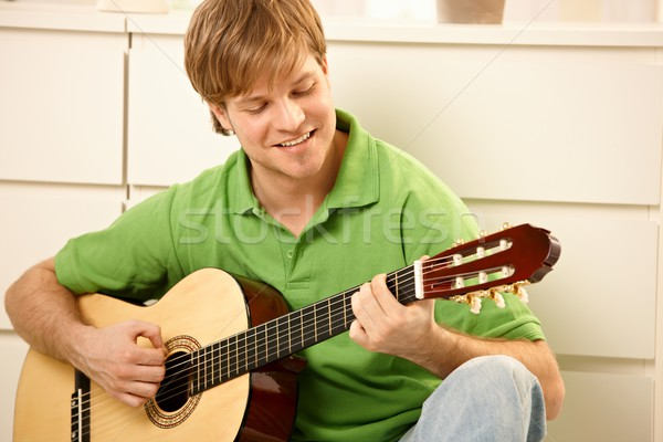 Guy with guitar Stock photo © nyul
