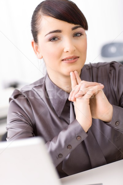 Businesswoman thinking Stock photo © nyul