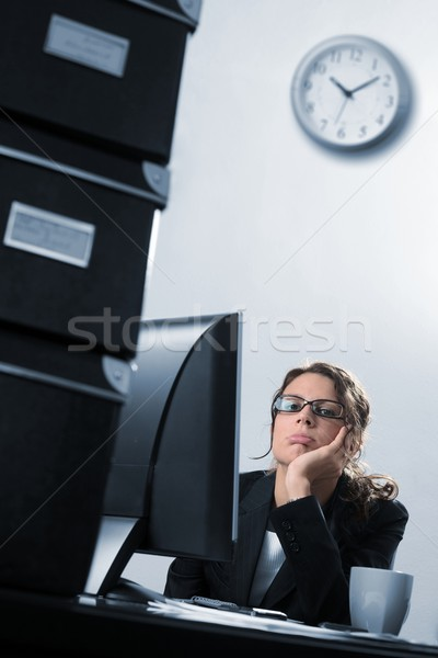 Stock photo: Another monday morning