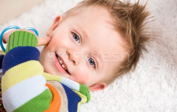 Happy baby boy Stock photo © nyul