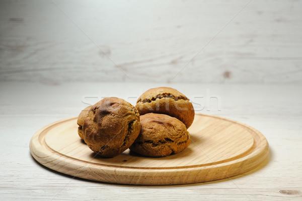 Zdrowych żyto mąka świetle Zdjęcia stock © O_Lypa
