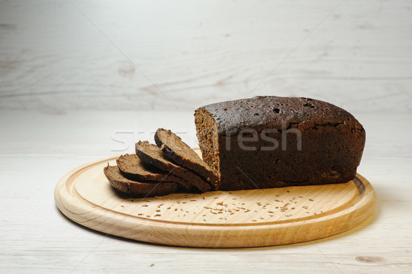 Baked rye bread Stock photo © O_Lypa