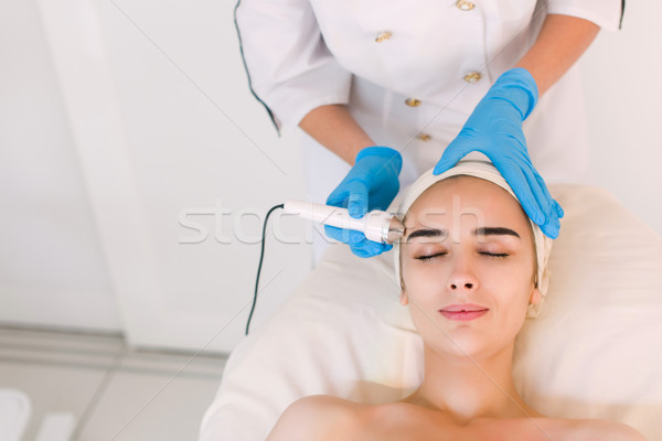 Cosmetic procedures in spa clinic Stock photo © O_Lypa