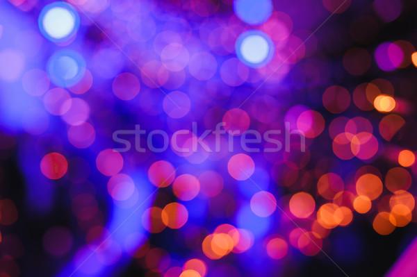 Defocused lights background Stock photo © O_Lypa