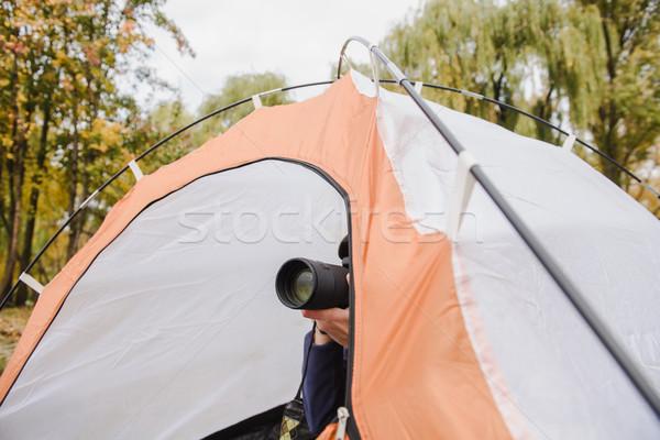 туристических фото dslr камеры человека Сток-фото © O_Lypa