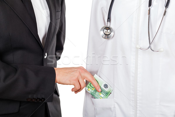 Paying for medical services Stock photo © Obencem