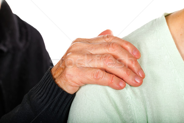 Elderly care Stock photo © Obencem