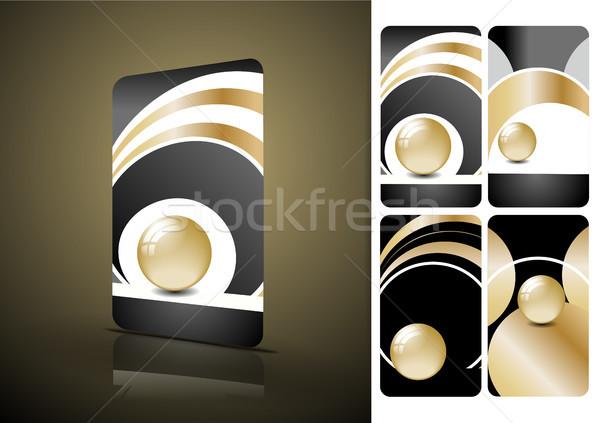 垂直 黒 もっと タイプ ストックフォト © obradart