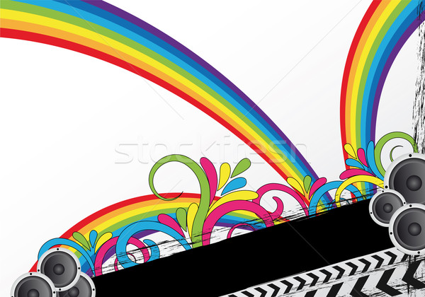 colorful party background Stock photo © oconner