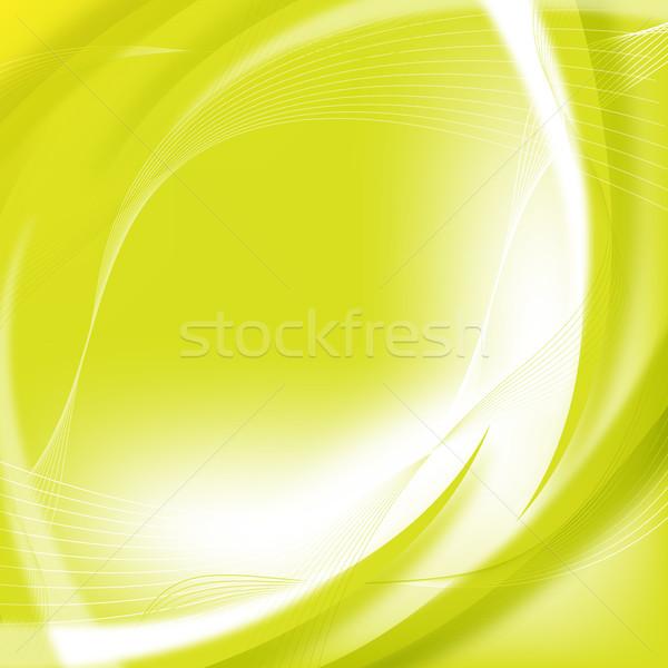 Resumen verde hermosa diseno negocios fondo Foto stock © oconner