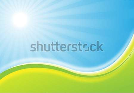 nature background illustration Stock photo © oconner