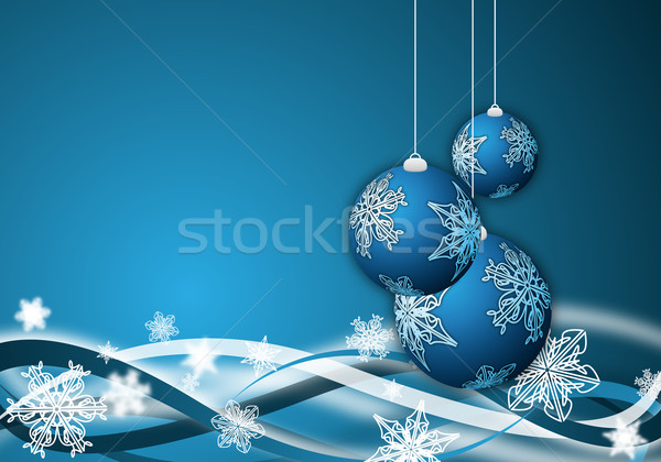 christmas background Stock photo © oconner