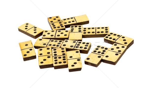 Isolated dominos Stock photo © ocskaymark