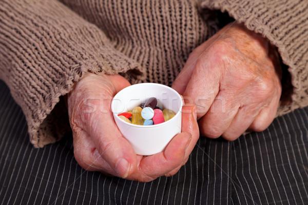 болезнь предотвращение пожилого стороны Сток-фото © ocskaymark
