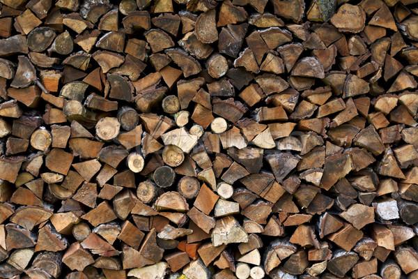 Wood splitting Stock photo © ocskaymark