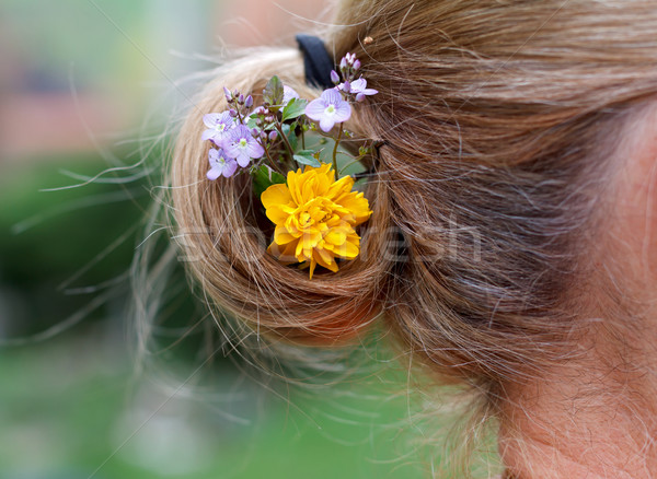 Hair decoration Stock photo © ocskaymark