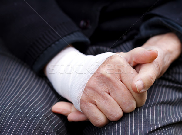 Sprained wrist Stock photo © ocskaymark