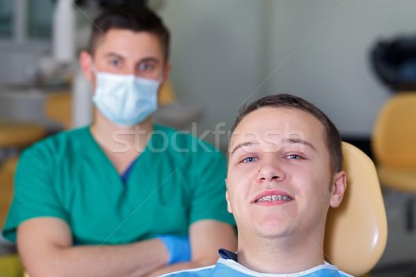 Dental braces Stock photo © ocskaymark
