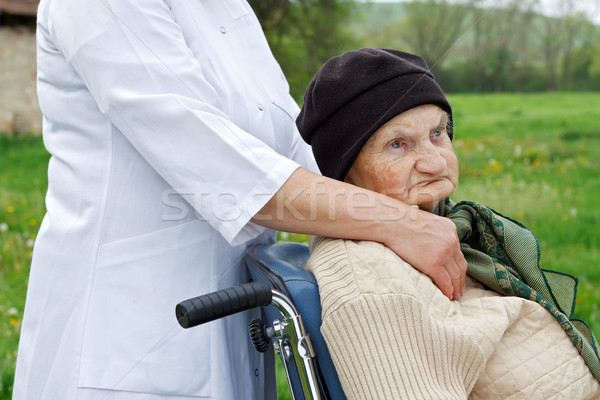 Elderly life Stock photo © ocskaymark