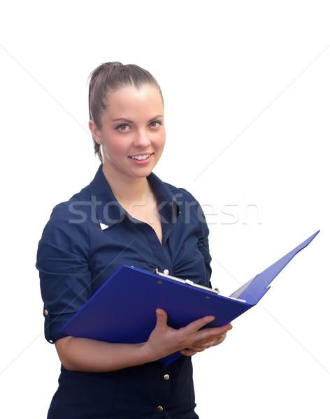 Donna d'affari ritratto ufficio file Foto d'archivio © ocskaymark