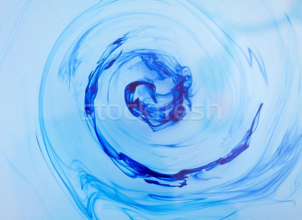 Nosso redemoinho belo azul textura Foto stock © ocskaymark