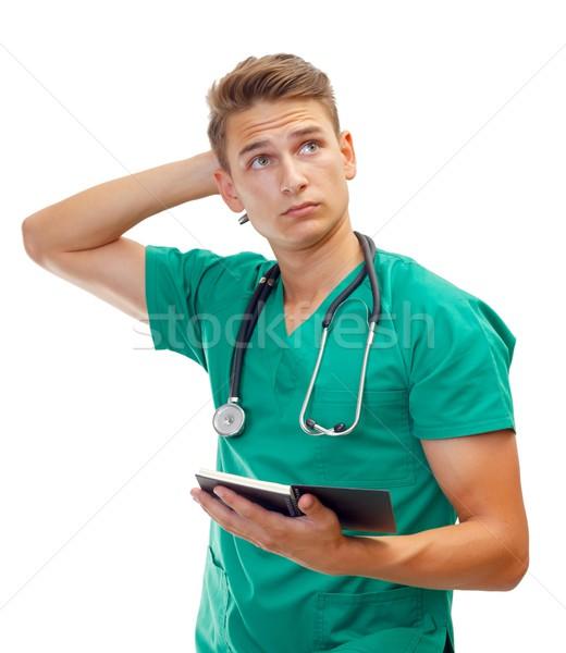 Medico di sesso maschile ritratto isolato ospedale medicina Foto d'archivio © ocskaymark