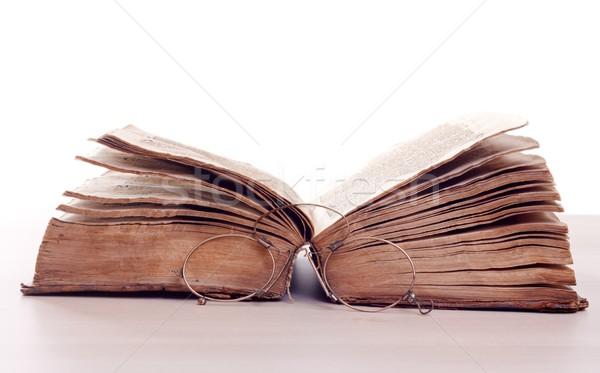 Aged storybook Stock photo © ocskaymark