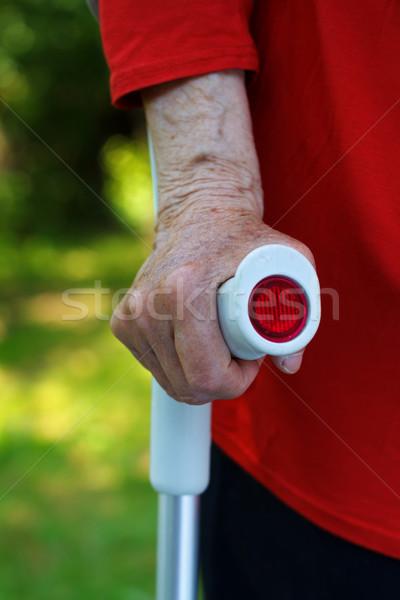 пожилого ухода рук опора Сток-фото © ocskaymark