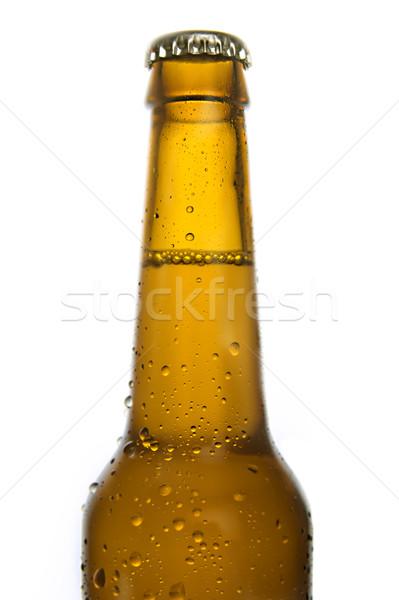 Nesneler soğuk beyaz su bira Stok fotoğraf © ocusfocus