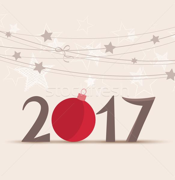 New Year 2017 Stock photo © odina222
