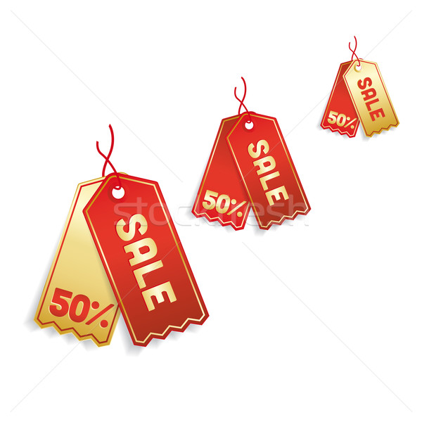 sale tags Stock photo © odina222
