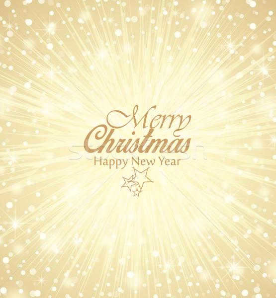 вектора Рождества веселый снега счастливым Сток-фото © odina222